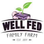 Erin Rodriguez with Well Fed Family Farm